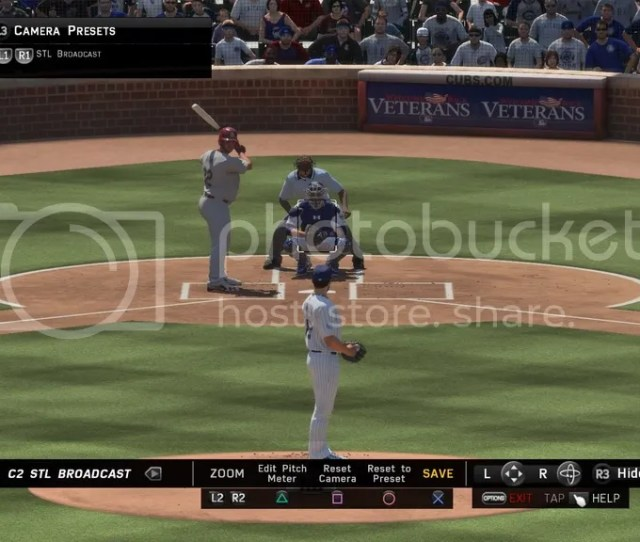 Pitching Pitching Difficulty All Star Pitching Interface Classic Pitching View Custom View Attached Photo Use R2 L2 To Zoom With Stl Camera Just