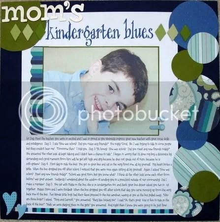 Mom's Kindergarten Blues