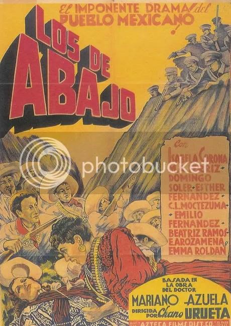 El representación de Los de Abajo como obra del teatro.