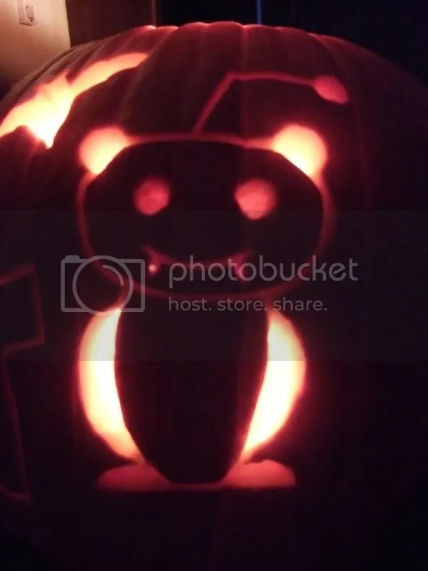 pumpkin alien