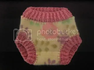 crochet recycled soaker
