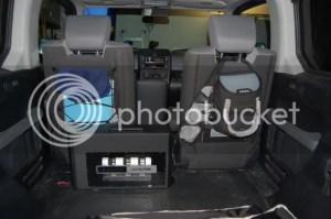 Super Stealth Alpine Sub Install in ManVan!  Honda