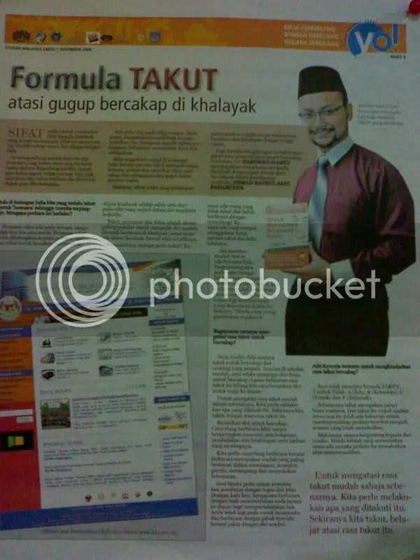 Utusan Malaysia, 1 Nov 08