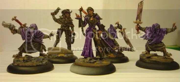 Sonnia Criid's Witch Hunters