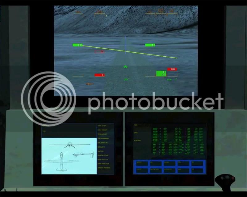 Panel Principal del UAV