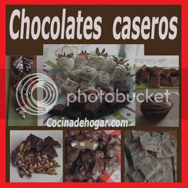 cómo hacer chocolates caseros