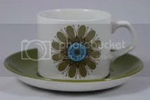 Vintage Meakin cup & saucer