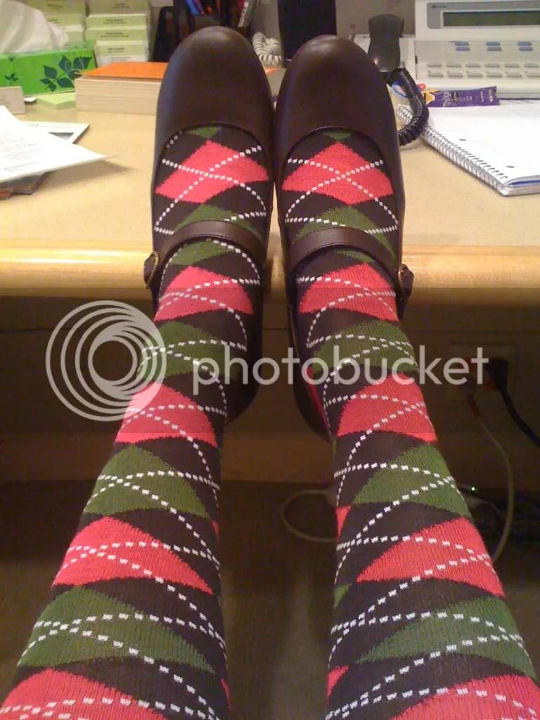My cute socks.