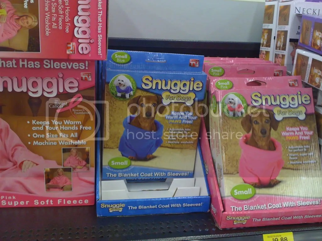 A Pet Snuggie...what everyone needs!