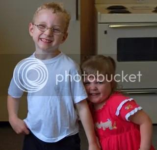 Tristan is Grace's buddy!