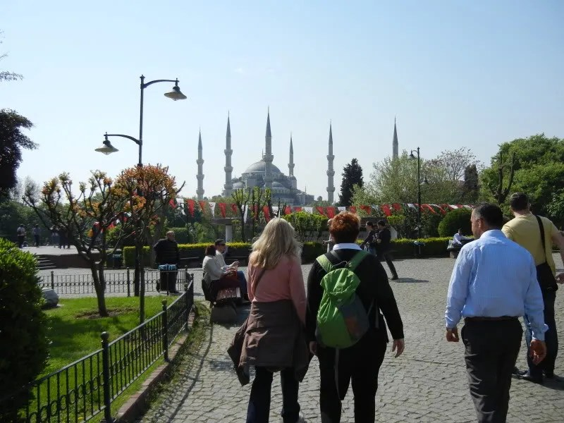 old city's blue mosque