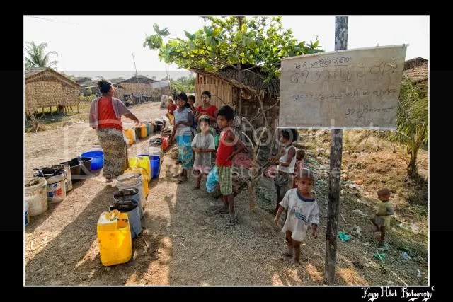 save water save burma