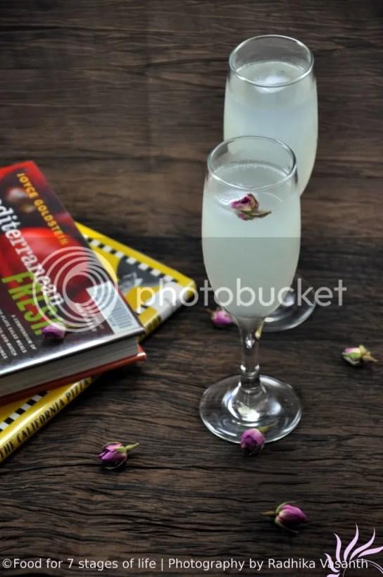 Rosewater Lemonade - A Mediterranean Classic