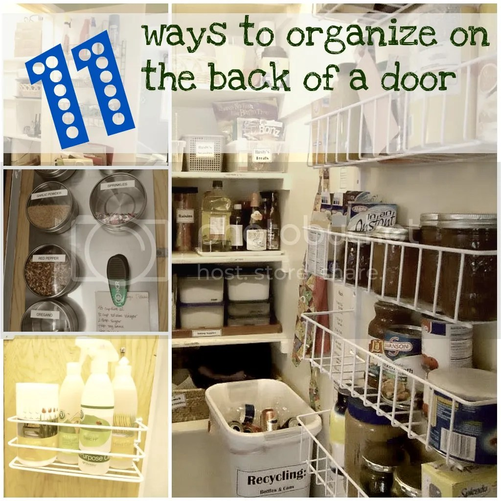 11 ways to organize door