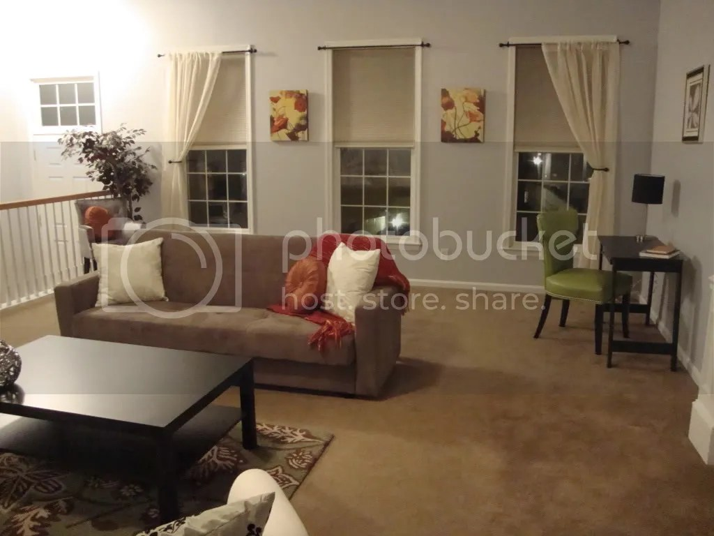 Great Room Staging