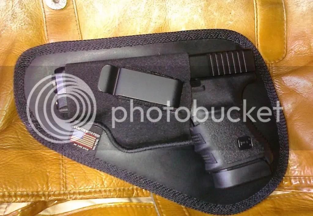 It's a Glock 30
