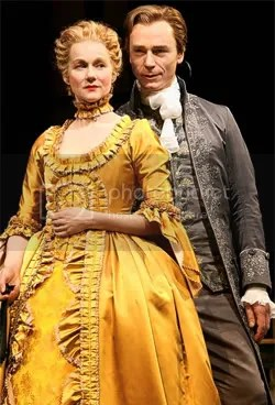 Laura Linney and Ben Daniels
