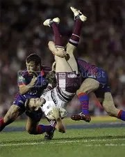 Upside-down tackle