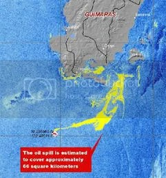guimaras oil spill map