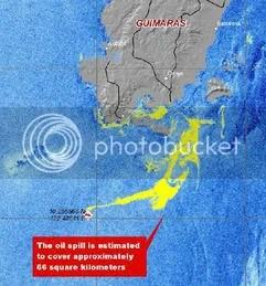 guimaras oil spill map
