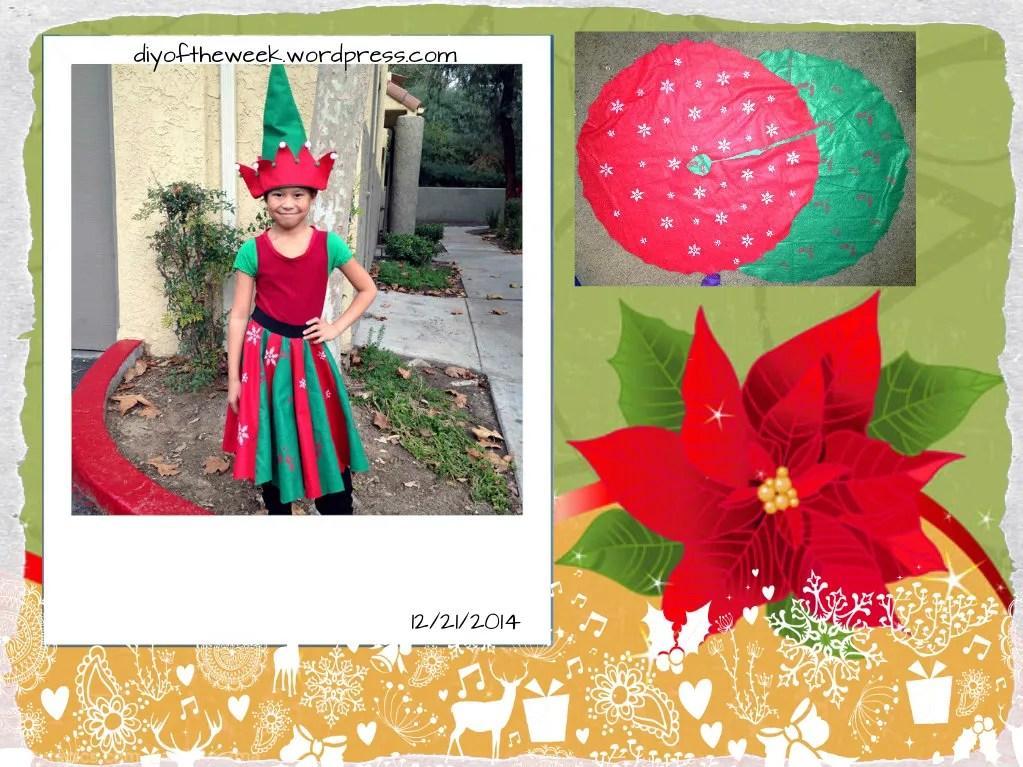 refashioned elf costume
