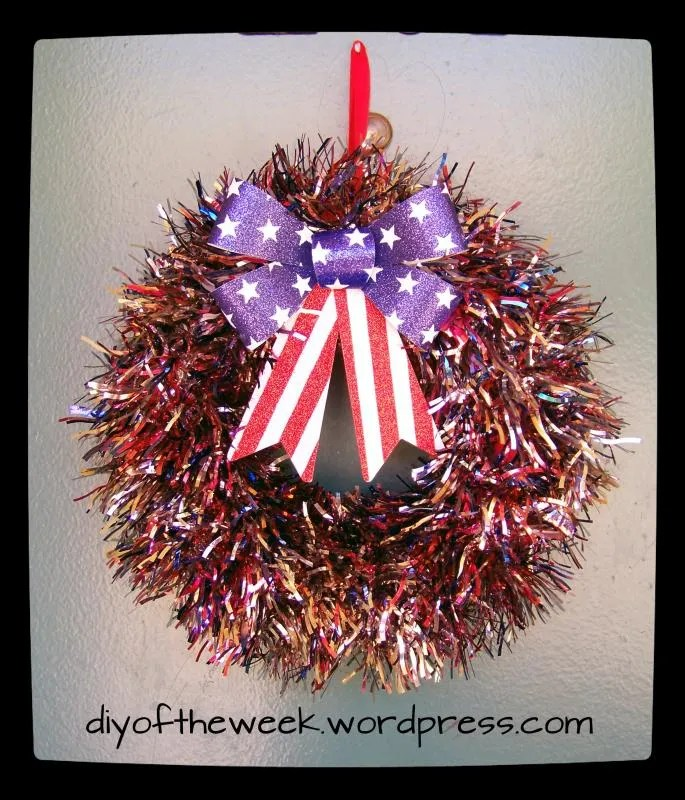 Patriotic Wreath DIY