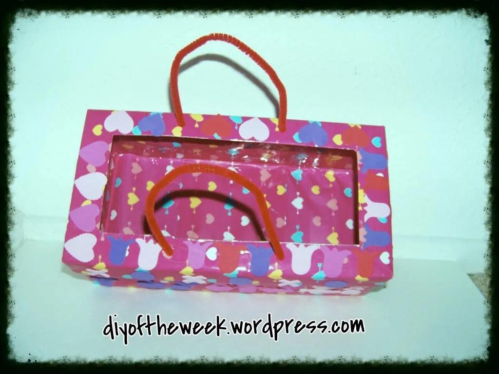 diy valentine's mailbox
