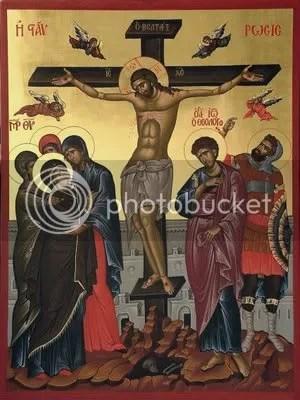 Iisus rastignit pe Cruce