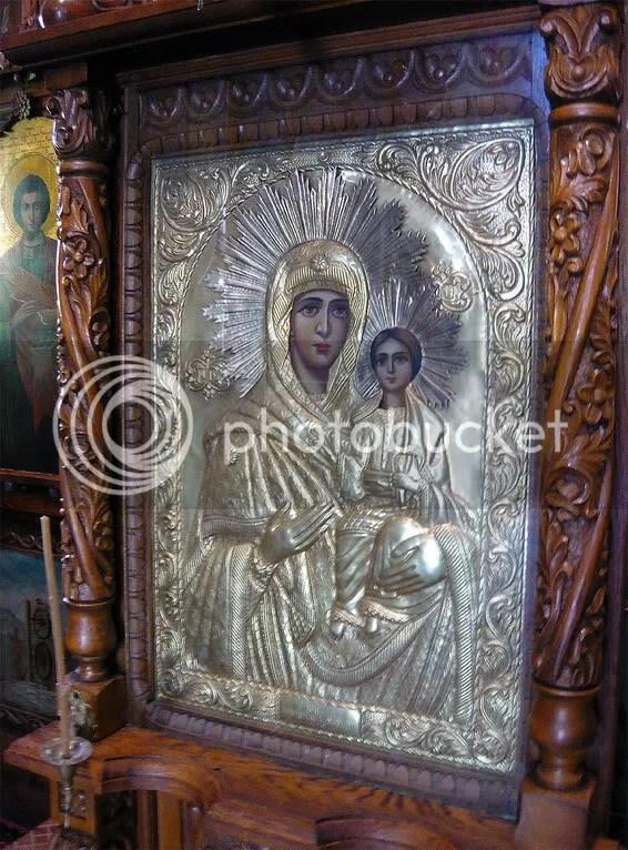 Icoana Maicii Domnului de la Iconostas
