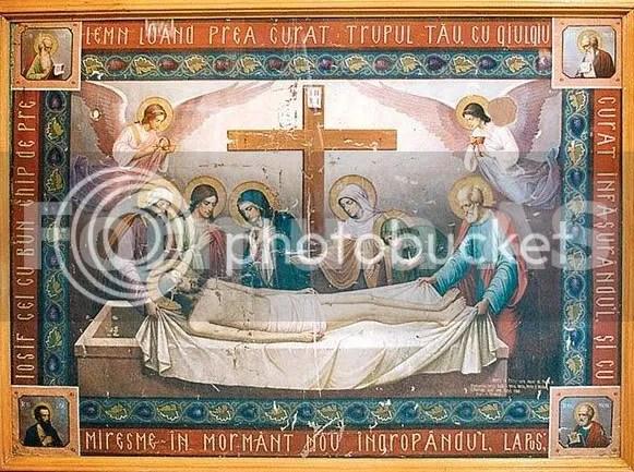 Epitaf din biserica satului Radaseni, din tinutul Falticenilor (sursa: Fromula AS)