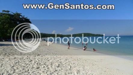 rosal white sand beach sarangani