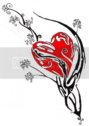 Tribal Heart Tattoos: Source url:http://profiles.friendster.com/48699915
