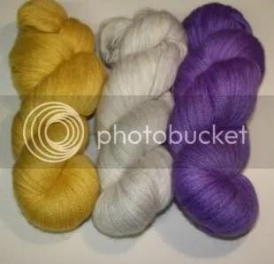 Laceweight alpaca, silk & cashmere