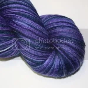 4ply sock dd violet and navy
