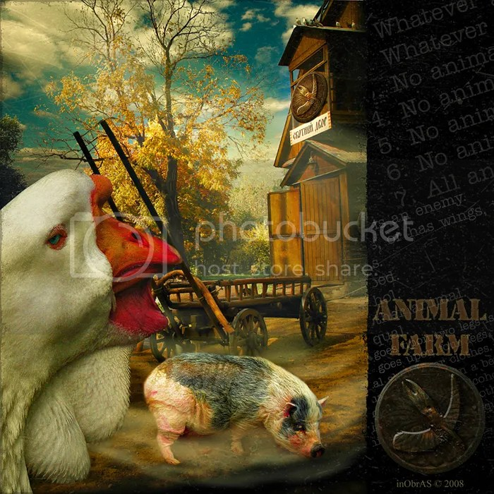 Reject your political party: Animal Farm