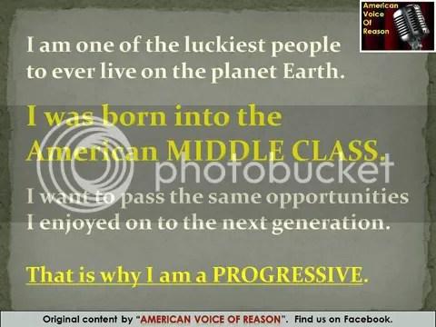 Progressive meme