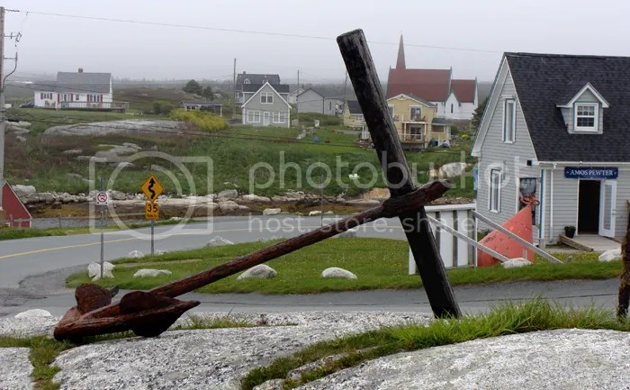Anchor at Peggy's Cove