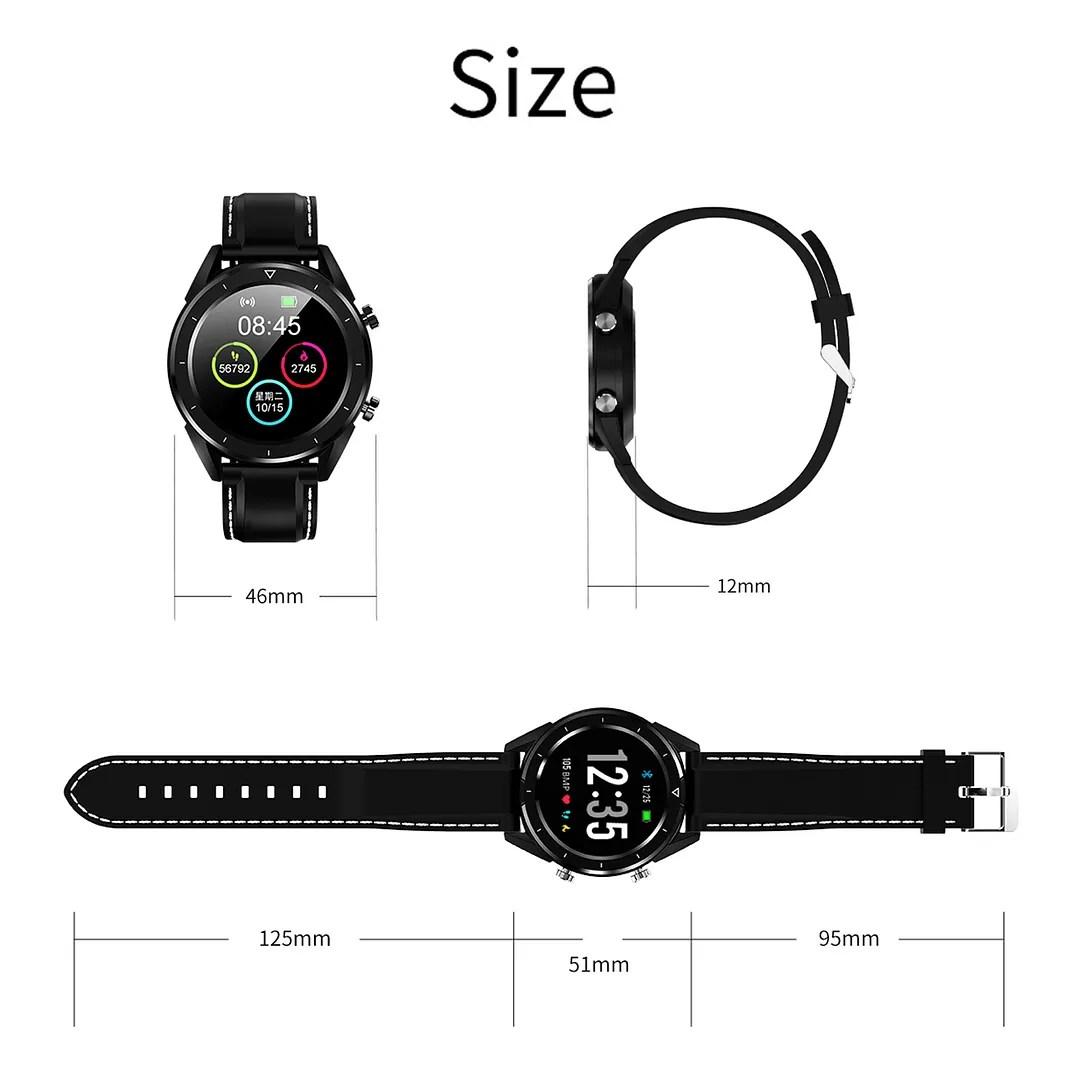 Men Women Sport Bluetooth Smartwatch Heart Rate Blood Pressure Monitor Universal