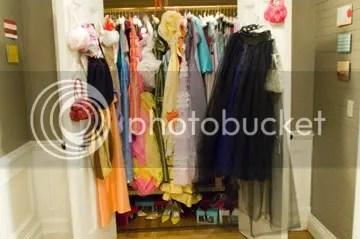 27 Dresses Closet