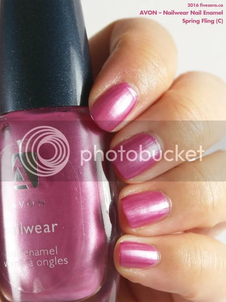 Avon Nailwear Nail Enamel in Spring Fling, swatch