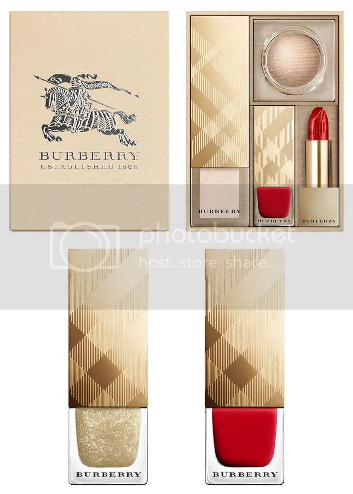 Burberry Winter 2015 Festive Set & Nail Lacquers