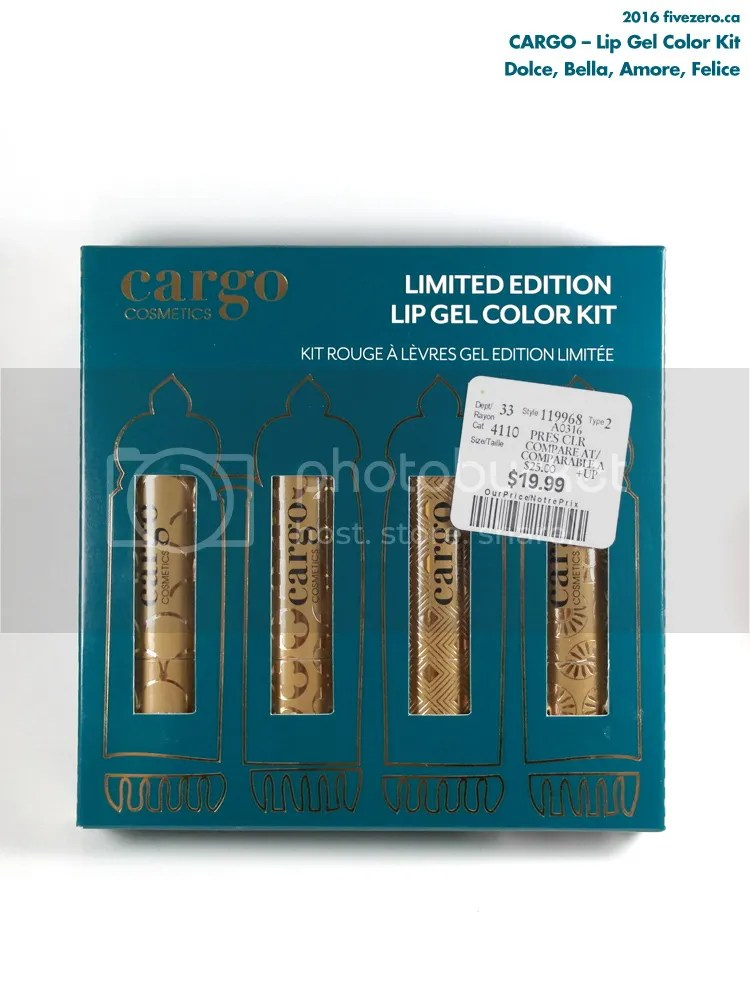 Cargo Lip Gel Color Kit