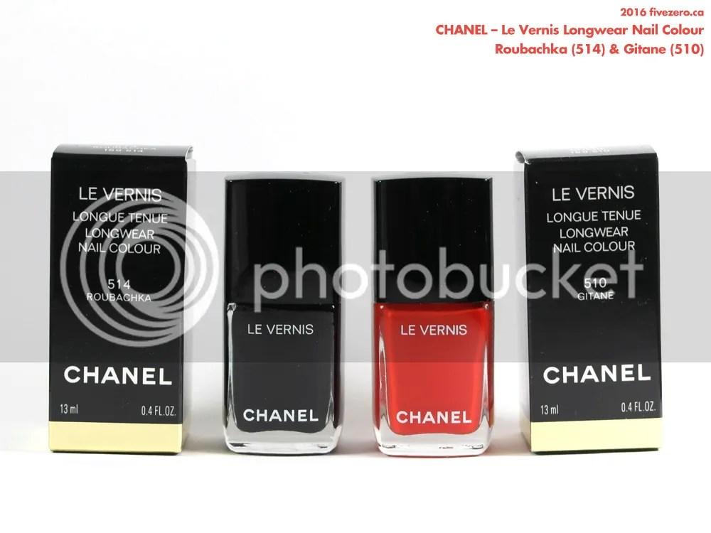 Chanel Le Vernis Longwear Nail Colour in Roubachka & Gitane