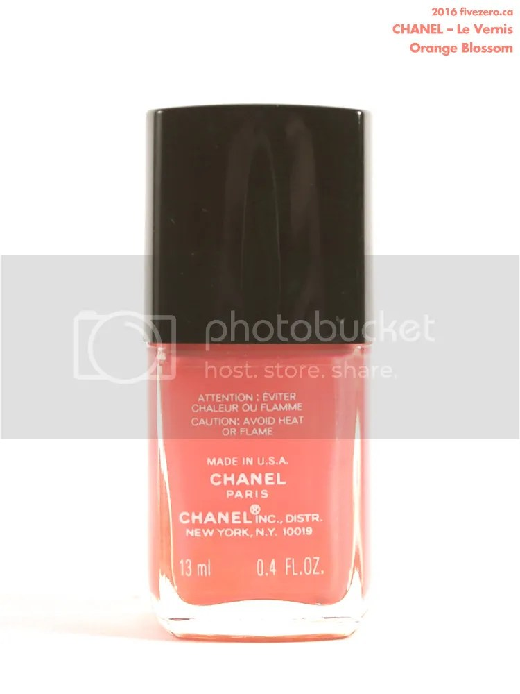 Chanel Le Vernis in Madness, label