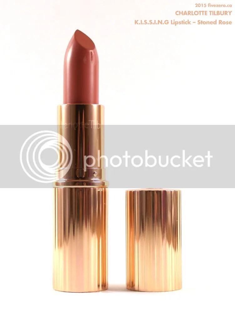Charlotte Tilbury KISSING Lipstick in Stoned Rose