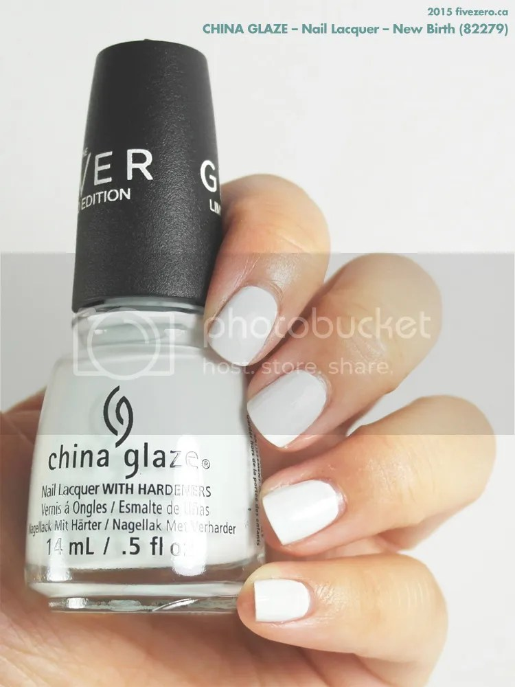 China Glaze Nail Lacquer in New Birth, swatch