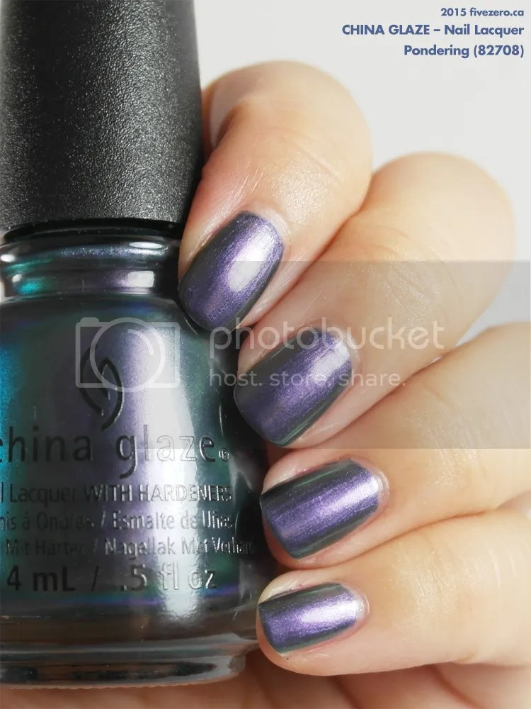 China Glaze Nail Lacquer in Pondering, swatch