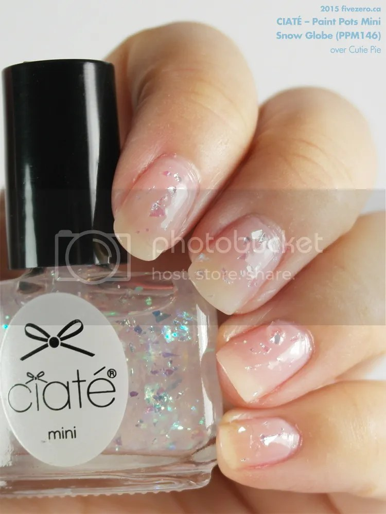 Ciaté Paint Pots Mini in Snow Globe, swatch