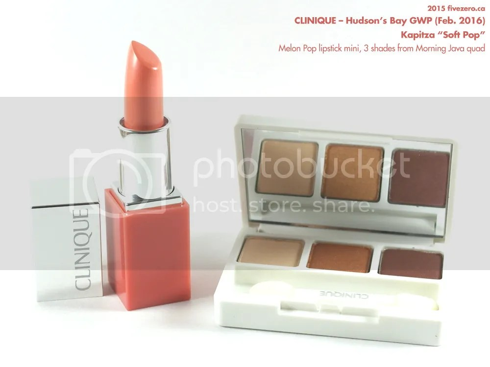 Clinique & Kapitza GWP at Hudson's Bay, Spring 2016