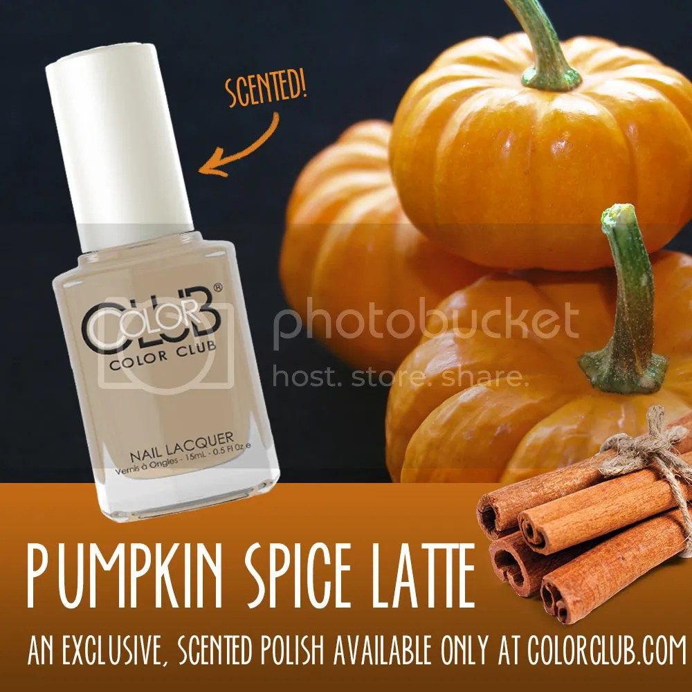 Color Club 2015 Halloween, Pumpkin Spice Latte (Limited Edition Scented Nail Lacquer)